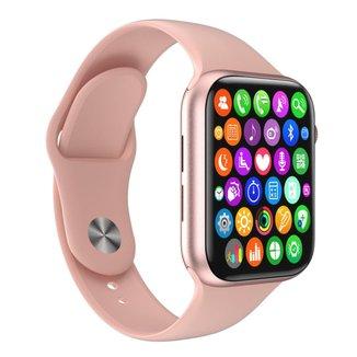 Relógio Inteligente SmartWatch W34 S Troca Pulseira Android iOS Ligações Monitor Cardíaco