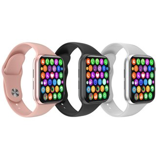Relógio Inteligente SmartWatch W34 S Troca Pulseira Android iOS Monitor Cardíaco - Smart Bracelet