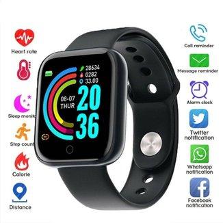 Relogio Inteligente Smartwatch Y68 D20 Bluetooth