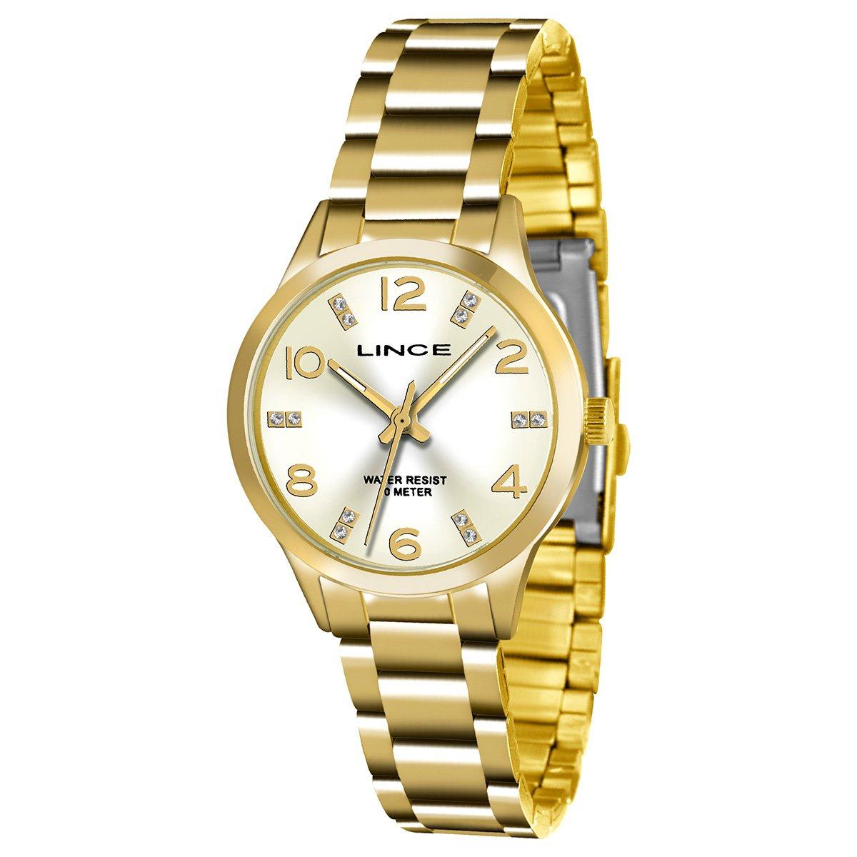 8c71fe3da30 Relógio Lince Analógico LRGH025L-C2KX Feminino - Compre Agora