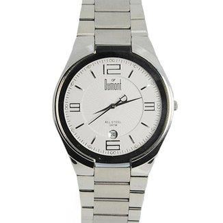 Relógio Masculino Analógico Prata Dumont - SR20206B