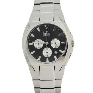 Relógio Masculino Analógico Prata Dumont - SY20601P