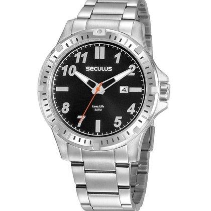 Relógio Masculino Analógico Prata Seculus - 20900G0SVNA4