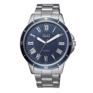 Relógio masculino analógico Q&Q Quartz QB22J207Y QB22J208Y