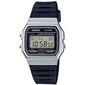 Relógio Masculino Casio Digital F-91Wm-7Adf
