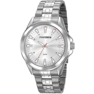 Relógio Masculino Casual Prata Mondaine 83457G0MVNE2