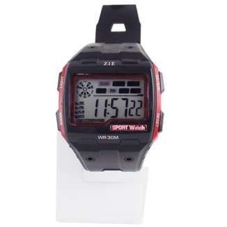 Relógio masculino Digital a prova D'água pulseira silicone