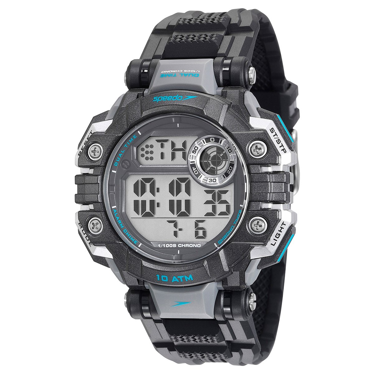 b8dbe079582 Relógio Masculino Digital Speedo 80624G0EVNP1 - Compre Agora