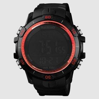 Relógio Masculino Esportivo Original Digital aventura Led