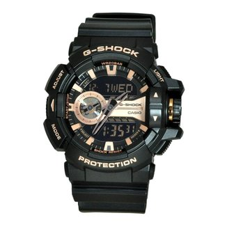 Relógio Masculino G-Shock GA-400GB-1A4DR Pulseira