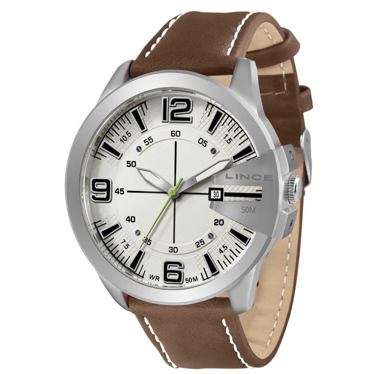 32a9b0523b9 Relógio Masculino Lince Analógico Mrc4333s B2nb - Compre Agora ...