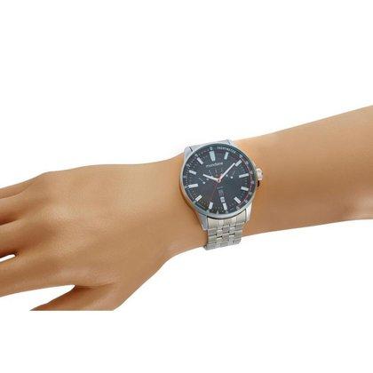 Relógio Masculino Mondaine 32226G0MVNE2 48mm Aço Prata