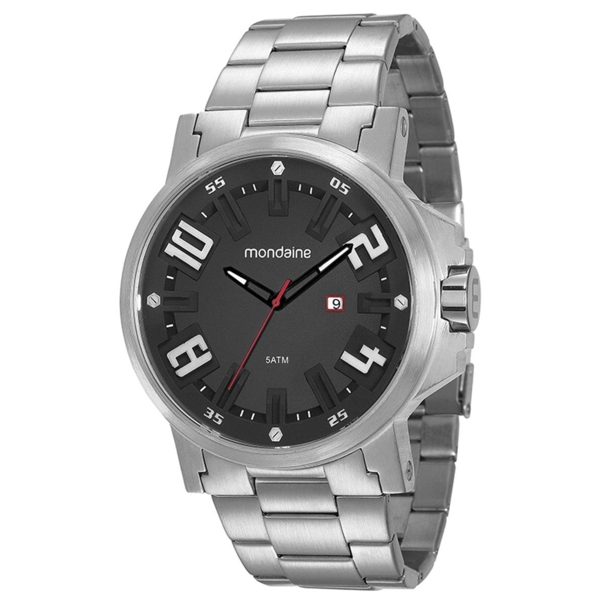 e8f45a5b5a8 Relógio Masculino Mondaine 99233G0MVNS3 Pulseira Aço - Compre Agora ...