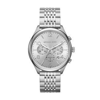 Relógio Michael Kors Feminino Merrick Prata MK8637/1KN MK8637/1KN