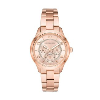 Relógio Michael Kors Feminino Runway Rosé MK6589/1JN MK6589/1JN