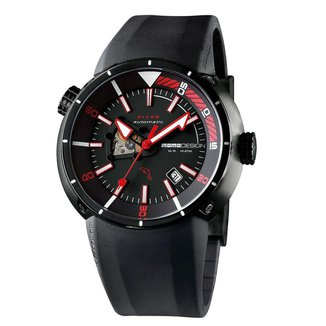 Relógio Momodesign Masculino Pulseira Borracha MD1007BK-11