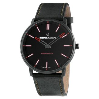 Relógio MomoDesign Masculino Pulseira Couro MD6002BK-12