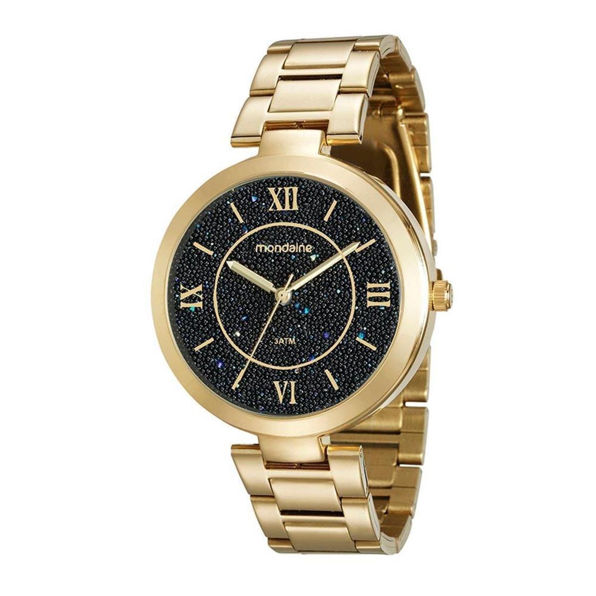 10f18a04d Relógio Mondaine 76615lpmvde2 Feminino - Dourado - Compre Agora | Netshoes