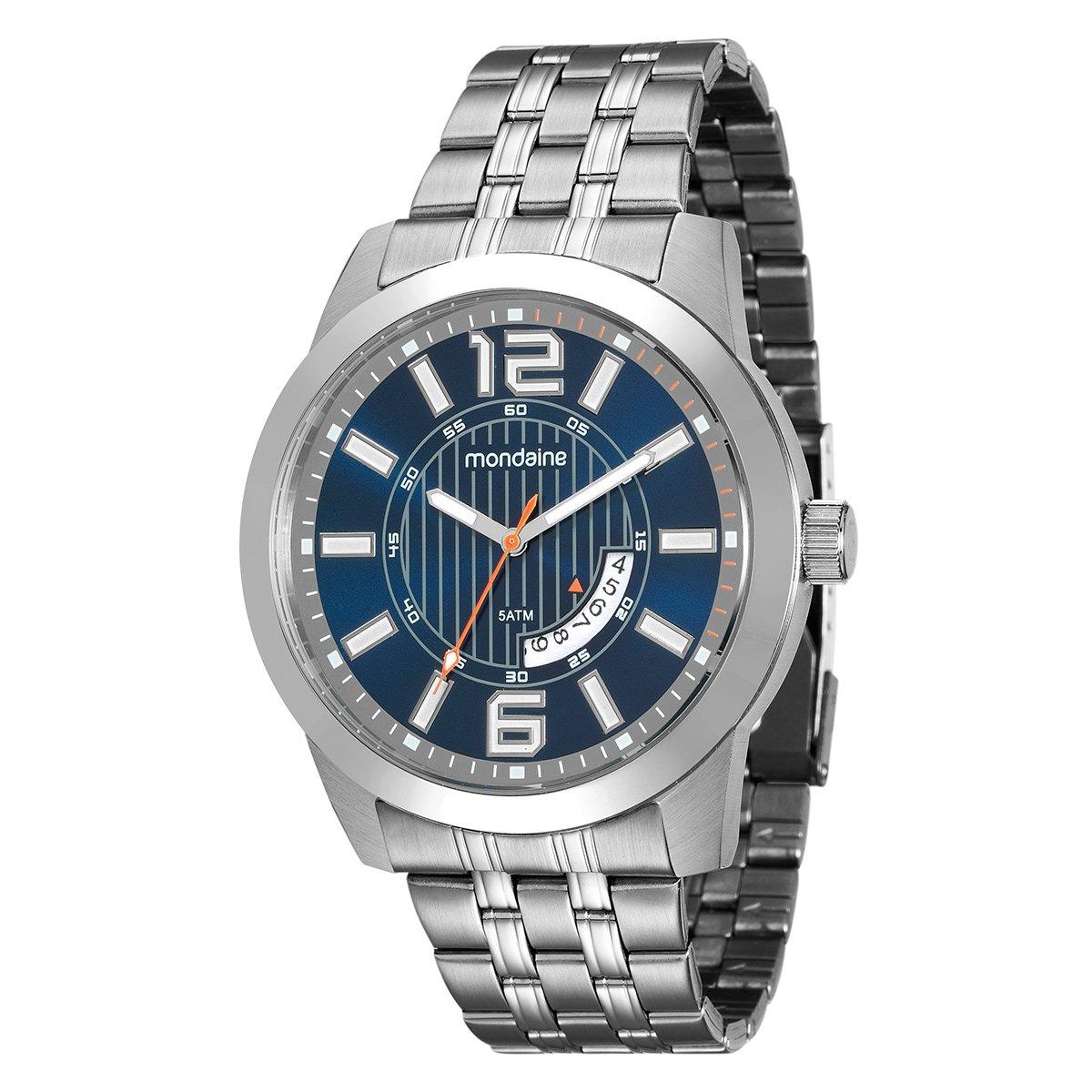 916b8f98e0b Relógio Mondaine Analógico Aço 99079G0MVNA1 Masculino - Compre Agora ...