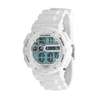 Relógio Mondaine Masculino Classic Branco 80646G0MVNP2