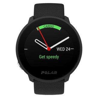 Relógio Monitor Cardíaco Com GPS Polar Unite - Branco - Unissex P/M