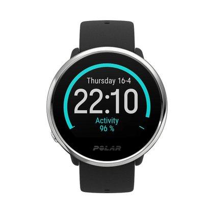 Relógio Monitor Cardíaco Polar Ignite - Preto/Prata - Unissex M/G