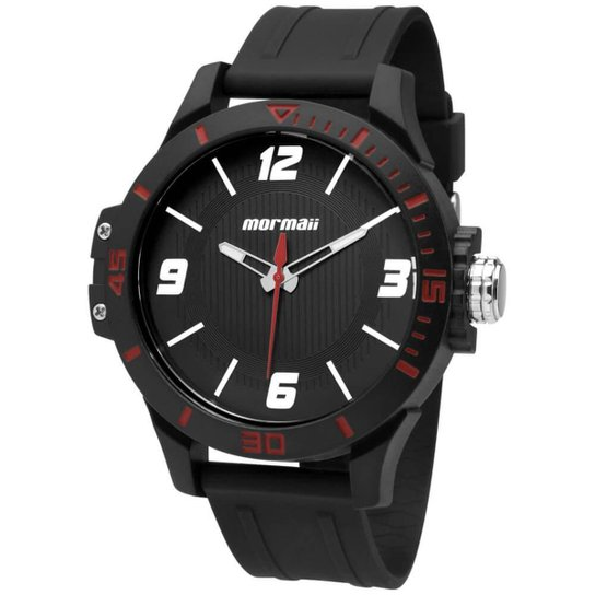 Relógio Mormaii Acqua MO2035FL/8R Preto MO2035FL/8R - Preto