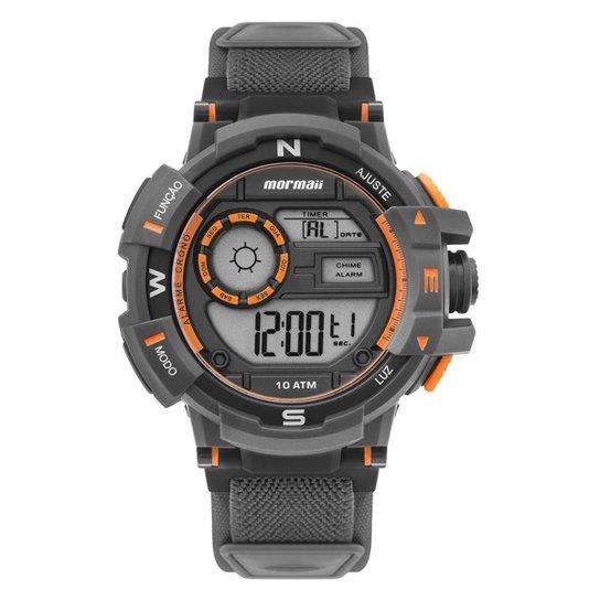 Relógio Mormaii Action Masculino Preto MO3231AC/8L MO3231AC/8L - Dourado