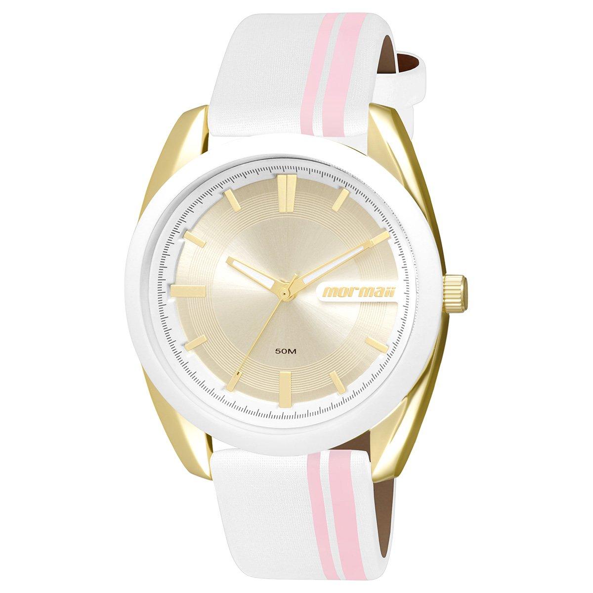 Relógio Mormaii Analógico MO2039AG-8K Feminino - Compre Agora   Netshoes 6651dd1fe5