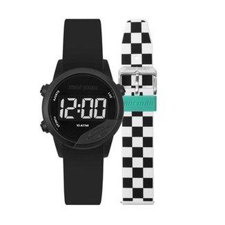 Relógio Mormaii Digital Mude Troca Pulseiras