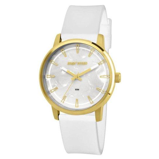 Relógio Mormaii Feminino - MO2035DN/8B - Branco