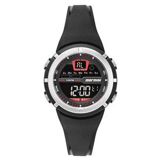 Relógio Mormaii Fun Unissex Prata MO2600AB/8R MO2600AB/8R
