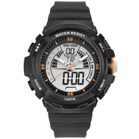 Relógio Mormaii Masculino Acqua Grafite MOAD08902/8L MOAD08902/8L - Grafite