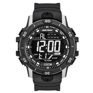 Relógio Mormaii Masculino Acqua Prata MO3690AA/8C MO3690AA/8C