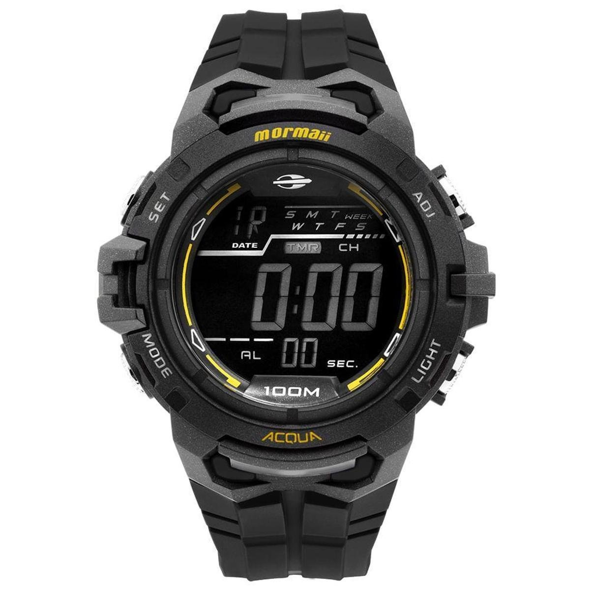 ceea2f4f5ebb3 Relógio Mormaii Masculino Action - MO1147A 8P MO1147A 8P - Preto - Compre  Agora