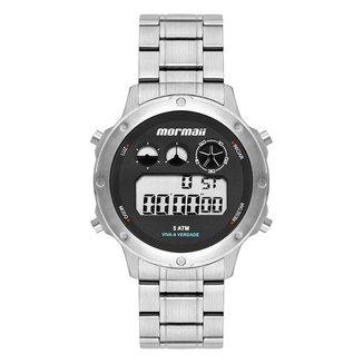 Relógio Mormaii Masculino Vibe Prata MOBJ3753AA/1P MOBJ3753AA/1P