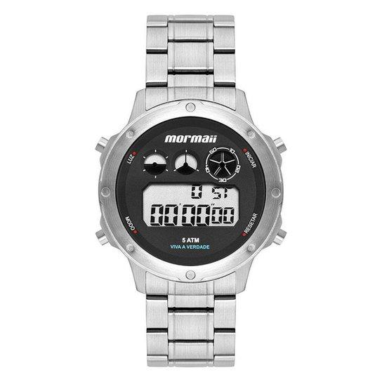 Relógio Mormaii Masculino Vibe Prata MOBJ3753AA/1P MOBJ3753AA/1P - Rose Gold