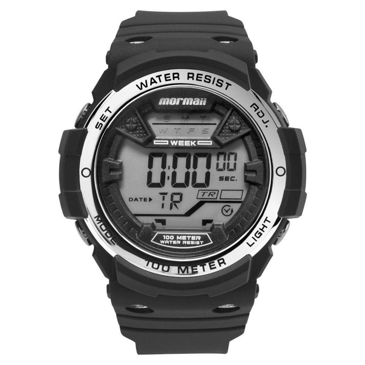 2b705f7357c Relógio Mormaii Masculino Wave - MO3500B 8K MO3500B 8K - Preto - Compre  Agora