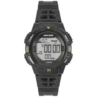 Relógio Mormaii Masculino Wave Preto MO9100AA/8V MO9100AA/8V