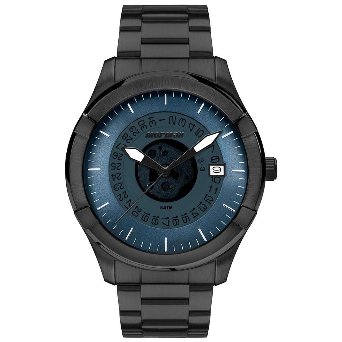 bdd47f2789119 Relógio Mormaii On The Road Masculino - Preto - Compre Agora