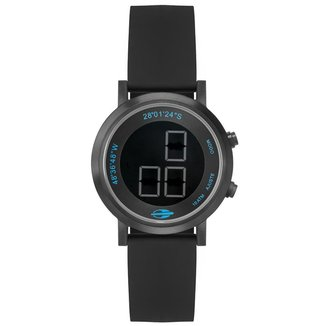 Relógio Mormaii Slim Surf Feminino Preto MO11929AA/2P MO11929AA/2P