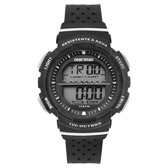 Relógio Mormaii Unissex Fun Preto - MO3650/8P MO3650/8P - Dourado