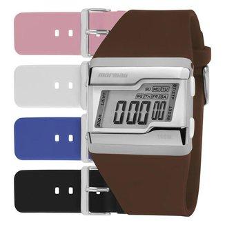 Relógio Mormaii Unissex FZ Branco FZCACT8S
