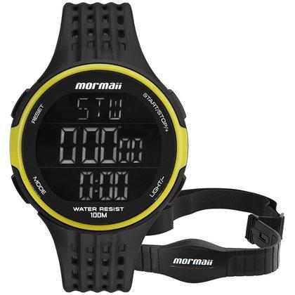 Relógio Mormaii Unissex Performance Preto - MO11559AA/8V MO11559AA/8V