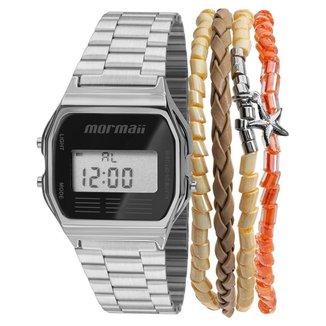 Relógio Mormaii unissex vintage - mojh02aa/k3p