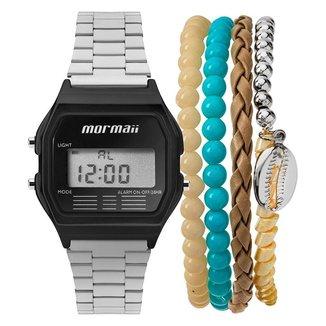 Relógio Mormaii unissex vintage - mojh02al/k4p