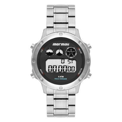 Relógio Mormaii Vibe Prata MOBJ3753AA/1P Masculino - Masculino