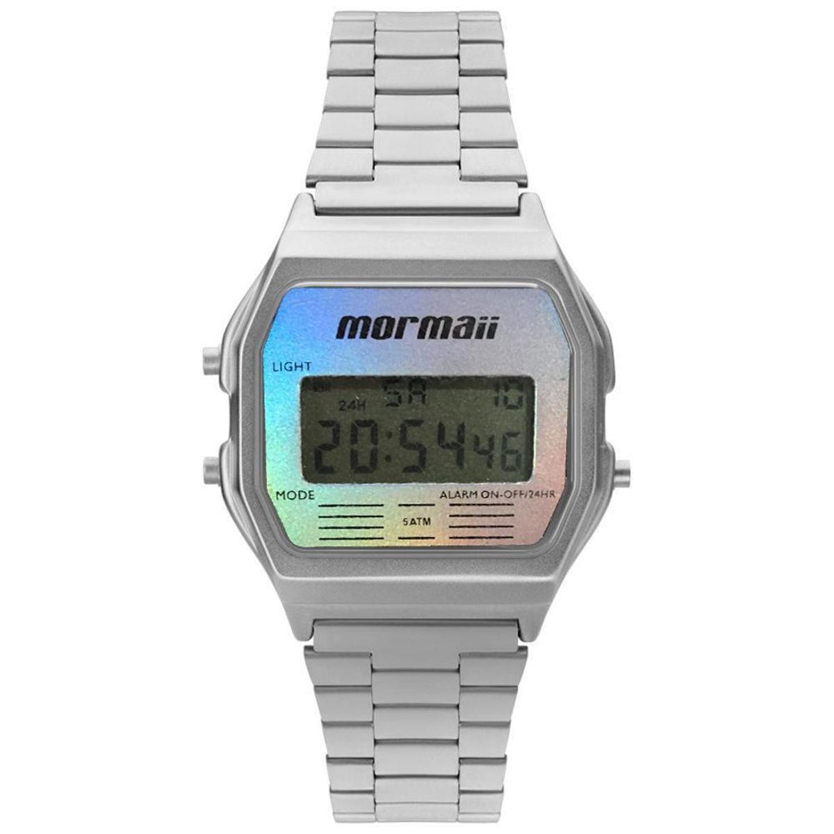 0beabf29b58cf Relógio Mormaii Vintage Digital Masculino - Compre Agora