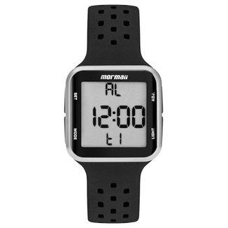 Relógio Mormaii Wave Unissex Prata MO6600AA/8K MO6600AA/8K