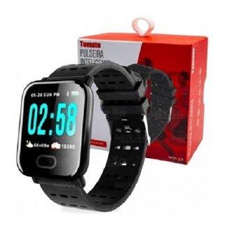 Relógio MTR 23 Smartband Smartwatch Notificações  Bluetooth